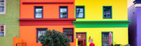 Awesome South Africa Collection Panoramic - Colorful Houses in Bo Kaap - Cape Town