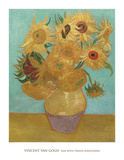 Vase with Twelve Sunflowers  1889
