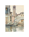 A Bridge and Campanile  Venice  1902/04
