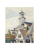 Methodist Church Tower, 1930 Reproduction d'art par Edward Hopper