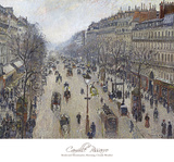 Boulevard Montmartre  Morning  Cloudy Weather  1897
