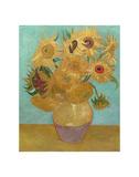 Vase with Twelve Sunflowers, 1889 Reproduction d'art par Vincent Van Gogh
