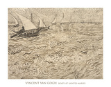 Boats at Saintes-Maries  1888