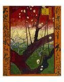 Flowering Plum Tree (after Hiroshige), 1887 Reproduction d'art par Vincent Van Gogh