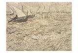 Boats at Saintes-Maries  1888