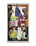New York Mural  1932