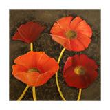 Gilded Floral I