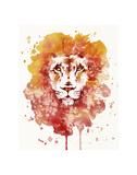 Pride (Watercolor Lion)