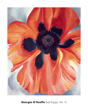 Red Poppy, No. VI, 1928 Reproduction d'art par Georgia O'Keeffe