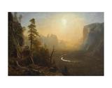 Yosemite Valley  Glacier Point Trail  ca 1873