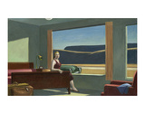 Western Motel, 1957 Reproduction d'art par Edward Hopper