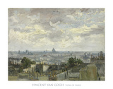 View of Paris  1886