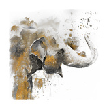 Water Elephant with Gold