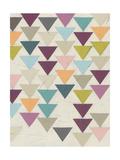 Confetti Prism VII Reproduction d'art par June Vess