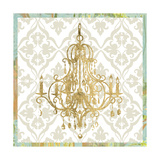 Damask Chandelier II