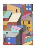 Rooftops in Color II