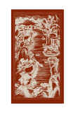 Chinese Bird's-eye View in Red I