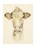 Watercolor Barn Animals III