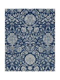 Baroque Tapestry in Navy II