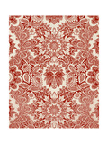 Baroque Tapestry in Red I