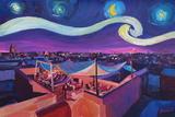 Starry Night in Marrakech Van Gogh Inspirations