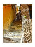 Stairs in the Mediterranean