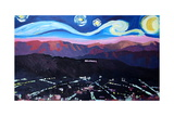 Starry Night in Hollywood Van Gogh Inspirations