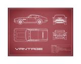 Aston V8 Vantage-Maroon