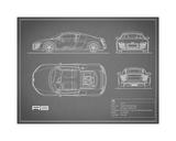 Audi R8 V10-Grey