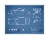 Jaguar MkVII-Blue