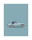 Jaguar XK140 Blue