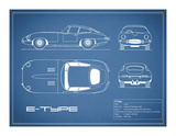 Jaguar E-Type-Blue