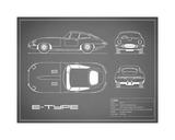 Jaguar E-Type-Grey