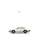 Porsche 911E 1968 White