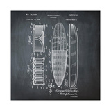 Surfboard  1948-Chalkboard
