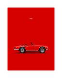 Triumph TR6 Red
