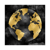 The Globe Gold on Black