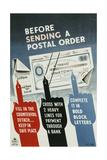 Before Sending a Postal Order