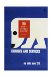The 'Post Office Guide July 1968'  Charges and Services  on Sale Now 2'6