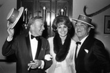 George Burns  Cyd Charisse and Tony Martin