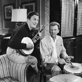 Kirk Douglas and Dan Dailey 1958