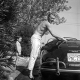 Steve McQueen and Wife