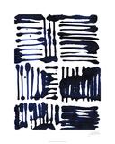 Indigo Stripes II