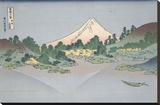 Reflection of Fuji in Lake Misaka in Kai Province  1831