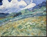 Landscape from Saint-Remy  1889