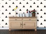 Triangles - Midnight Self-Adhesive Wallpaper