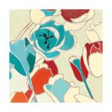 Cloisonne Tulipe I Turquoise Vignette
