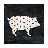 Modern Americana Farm I Reproduction d'art par Melissa Averinos