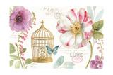 Rainbow Seeds Floral Birdcage I