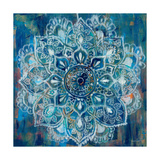 Mandala in Blue II Giclée premium par Danhui Nai